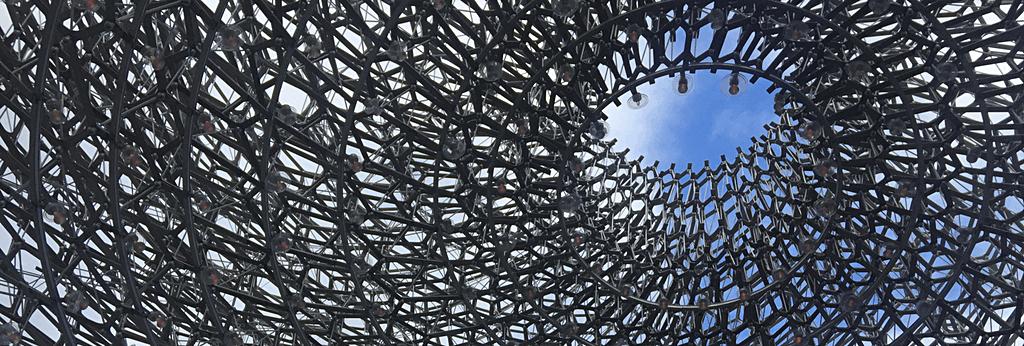 The Hive exhibit at Royal Botanic Gardens, Kew
